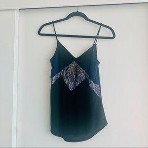 Express Lace Cami Blue/Black (XS)